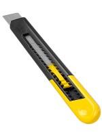 Dao rọc giấy 18mm, màu vàng có bao bì (10-151)
